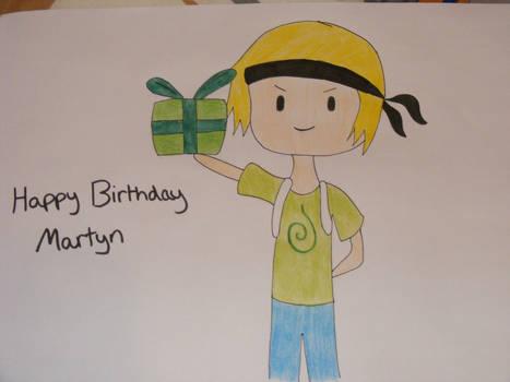 Happy Birthday martyn