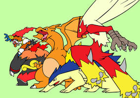 fire starters coloured in