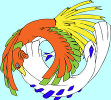 lugia and ho oh coloured