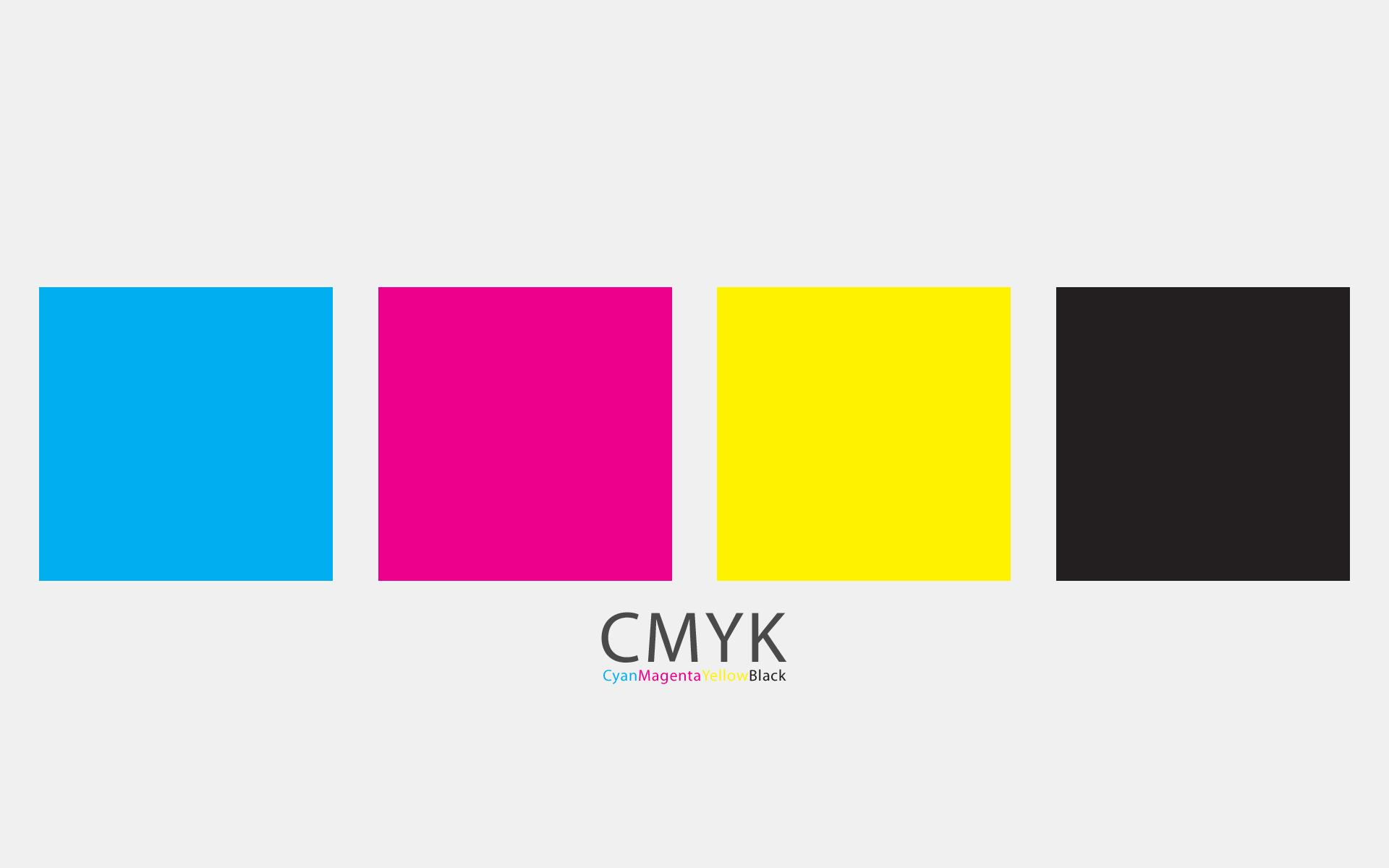CMYK - A Minimal Wallpaper