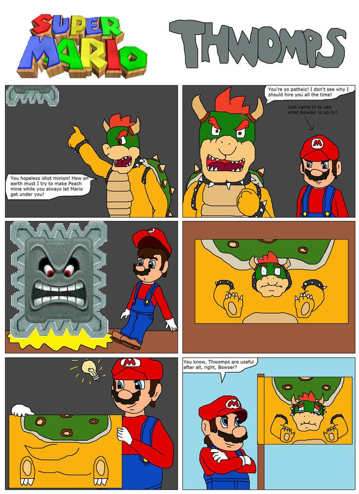 Mario comic Thwomps by ~SuperSaiyanCrash on deviantART