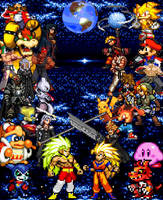 Final Battle Good v Evil by SuperSaiyanCrash