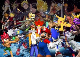 Heroes Collage by SuperSaiyanCrash