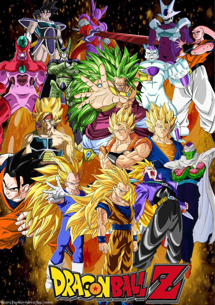 Dragon Ball Z Heroes and Villains by SuperSaiyanCrash on ...