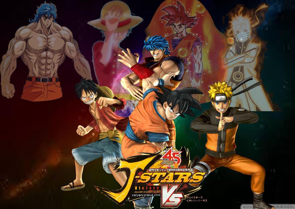 J Stars Victory VS Poster by SuperSaiyanCrash