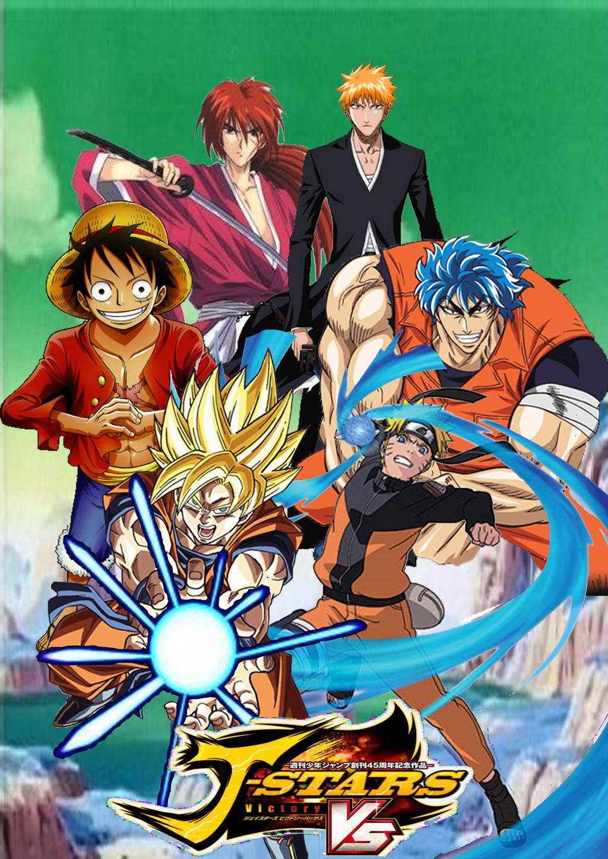J Stars Victory VS New poster by SuperSaiyanCrash