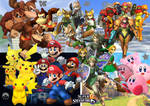 Super Smash Bros Stars Tribute