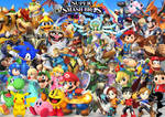 Super Smash Bros WII U 3DS Characters