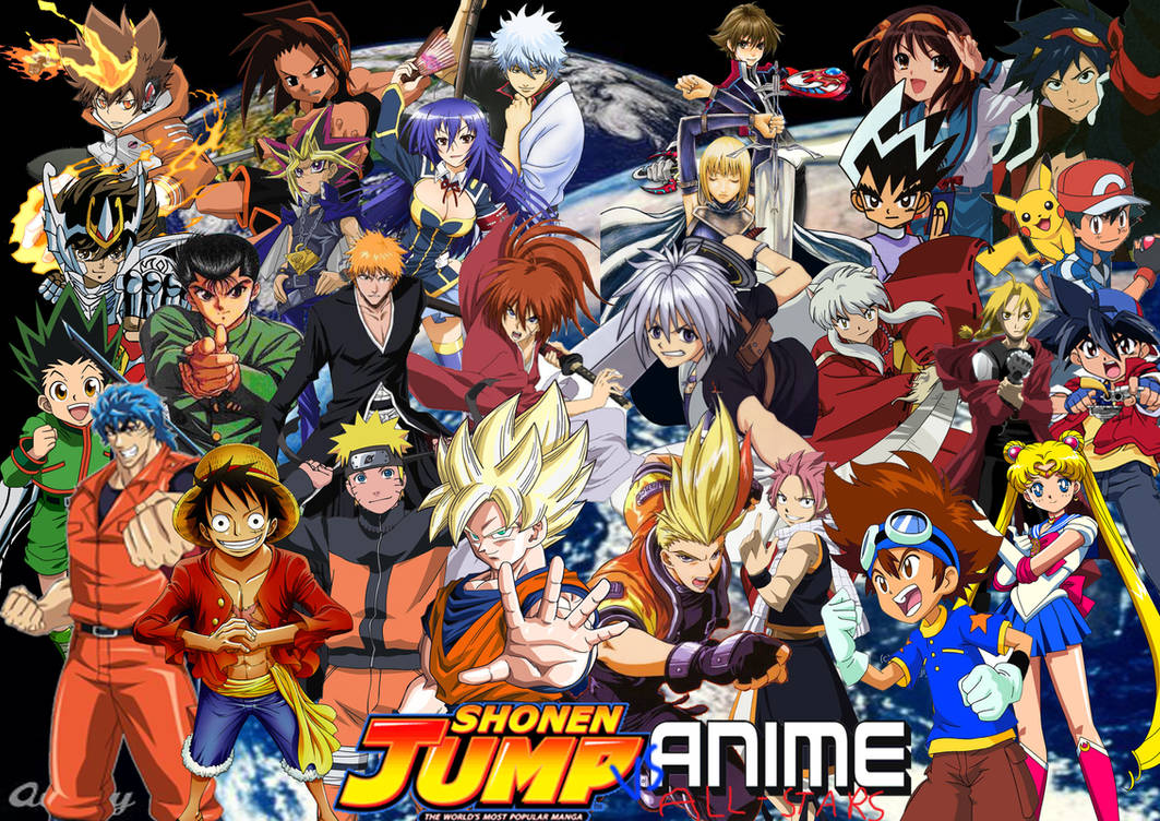 Shonen jump vs anime all stars by supersaiyancrash