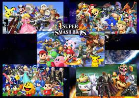 Super Smash Bros All Stars by SuperSaiyanCrash