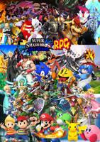 Super Smash Bros All Stars RPG by SuperSaiyanCrash
