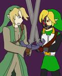 Smash Patrol Link vs Smash Breaker Link