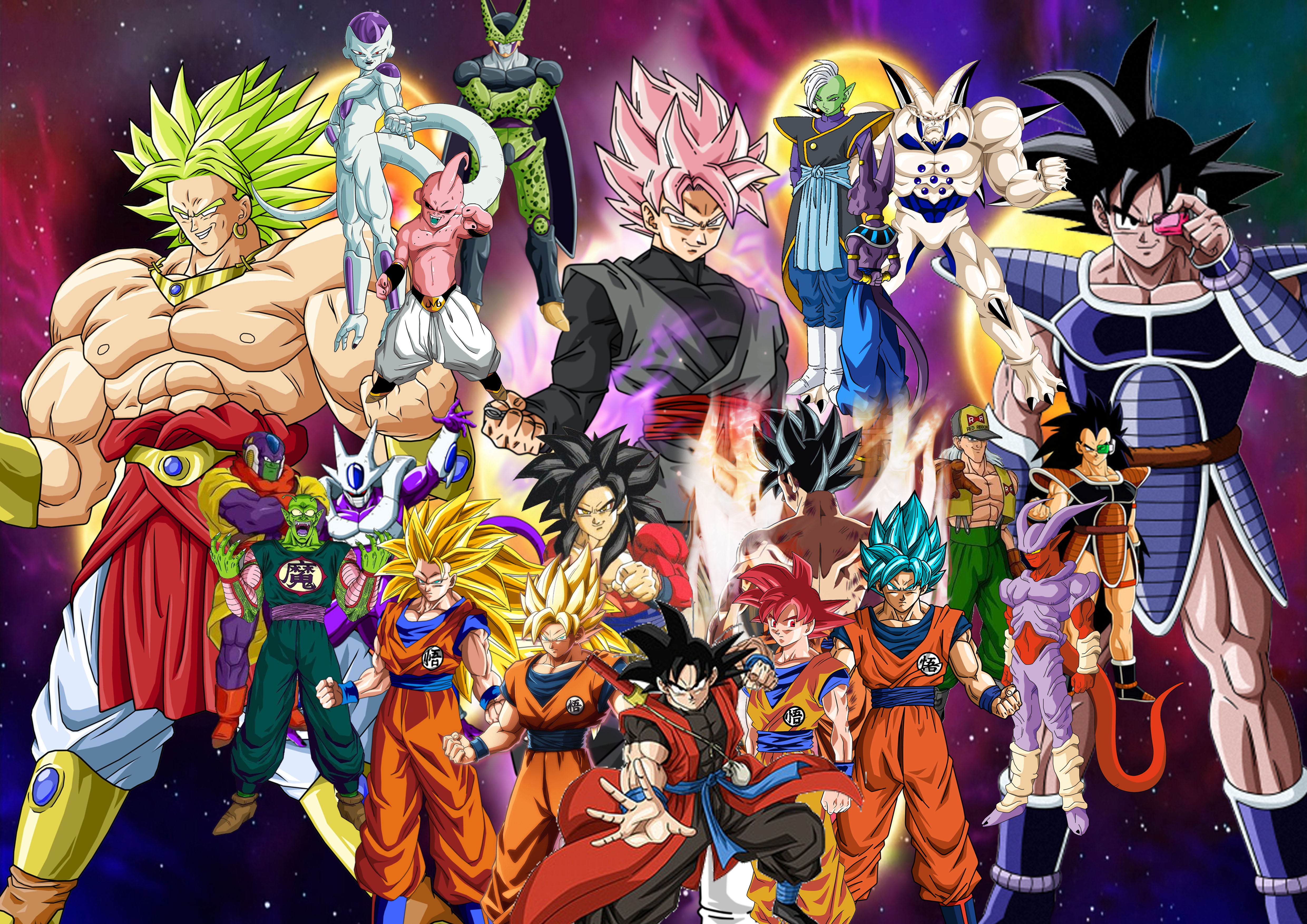 Goku Vs His Main Villains By Supersaiyancrash On Deviantart