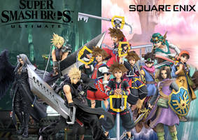 Smash Bros Team Square Enix