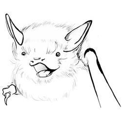 Happy Bat by racehell