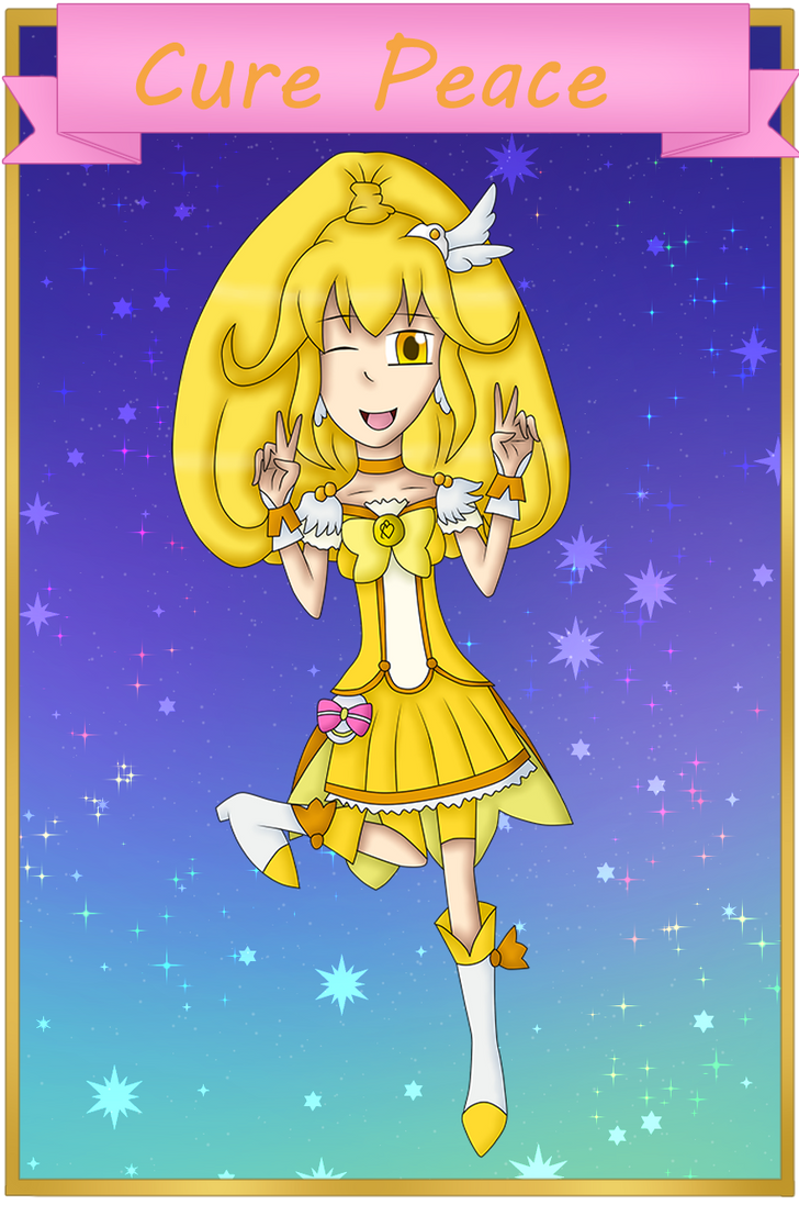 Magical Girl Index: Cure Peace from Smile PreCure by bogidream