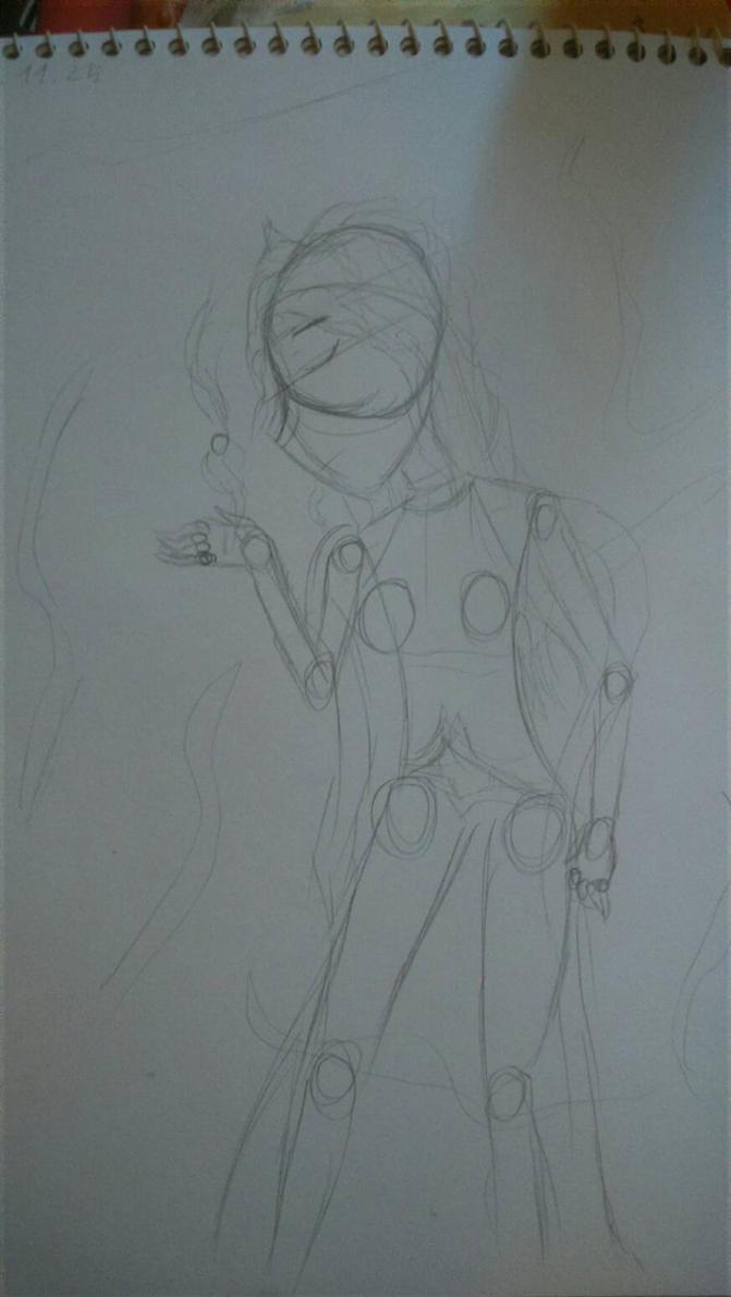 Dissidia cover rough sketch 1 by bogidream