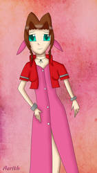 FFVII: Aerith again by bogidream