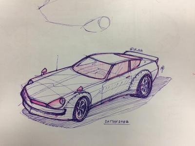 Nissan/Datsun 240z by ka-D