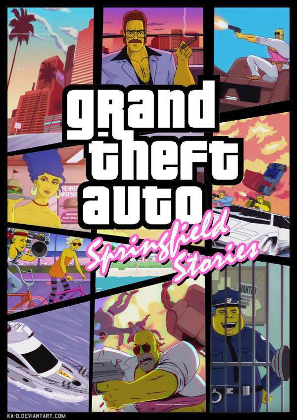 GTA springfield stories by ka-D