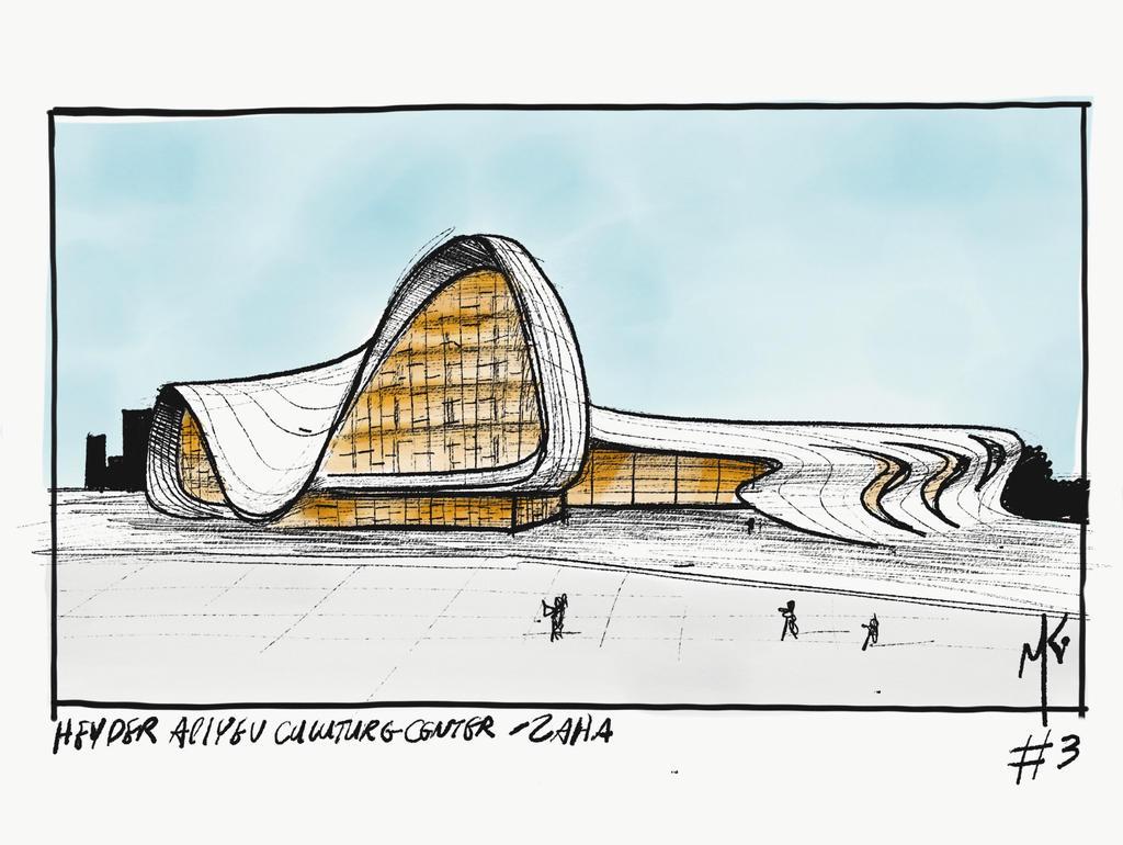 (3/31) Heydar Aliyev Center by ka-D
