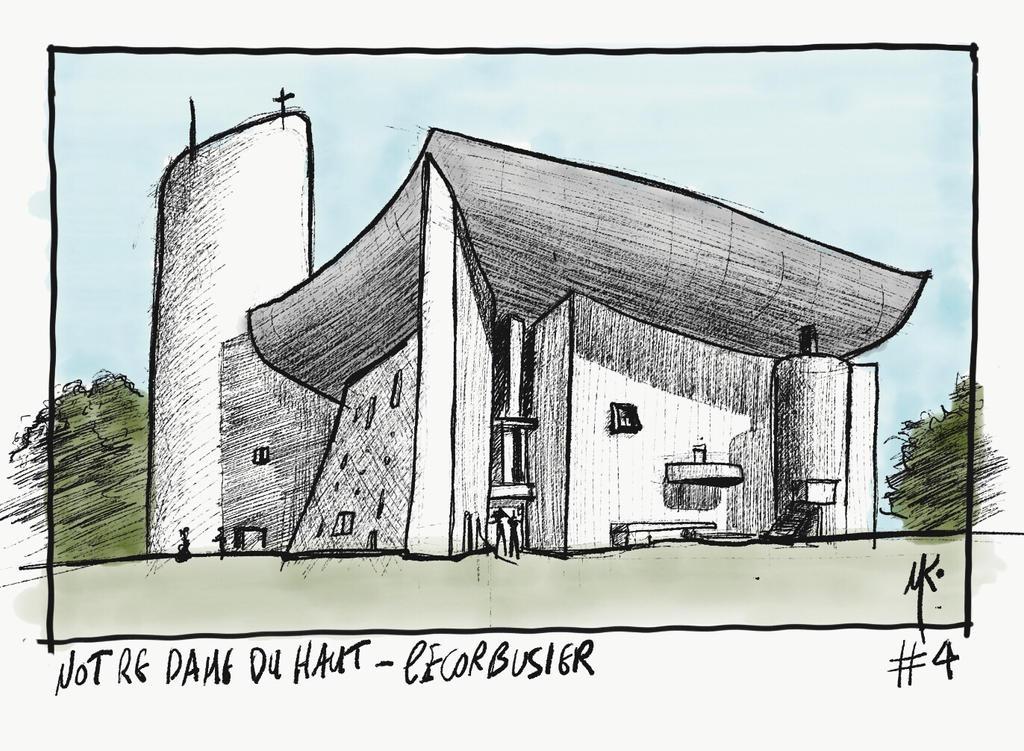 (4/31) Notre Dame Du Haut by ka-D