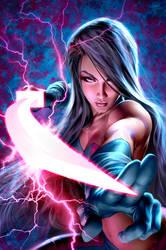 Psylocke by AlexGarner
