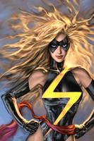 Ms. Marvel by AlexGarner
