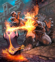 Incendiary Totem by AlexGarner