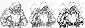 Dr. Doom... again. by AlexGarner