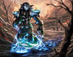 Sura Lightningheart by AlexGarner