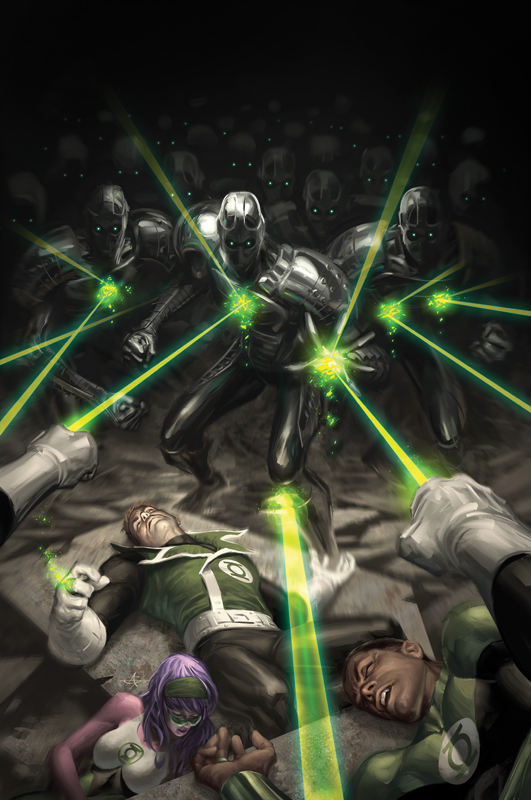 Green Lantern Corps No.2 by AlexGarner