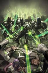 Green Lantern Corps No.2 Remix by AlexGarner