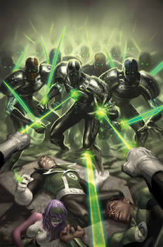 Green Lantern Corps No.2 Remix