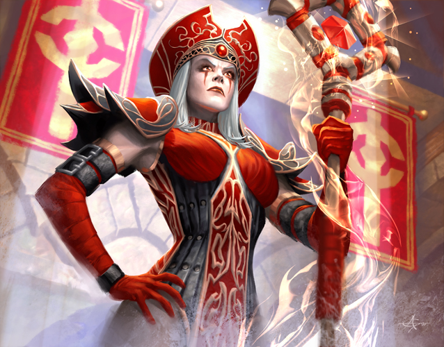 High Inquisitor Whitemane by AlexGarner