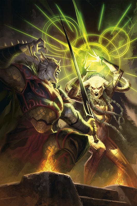 Demon Knights No.12 by AlexGarner