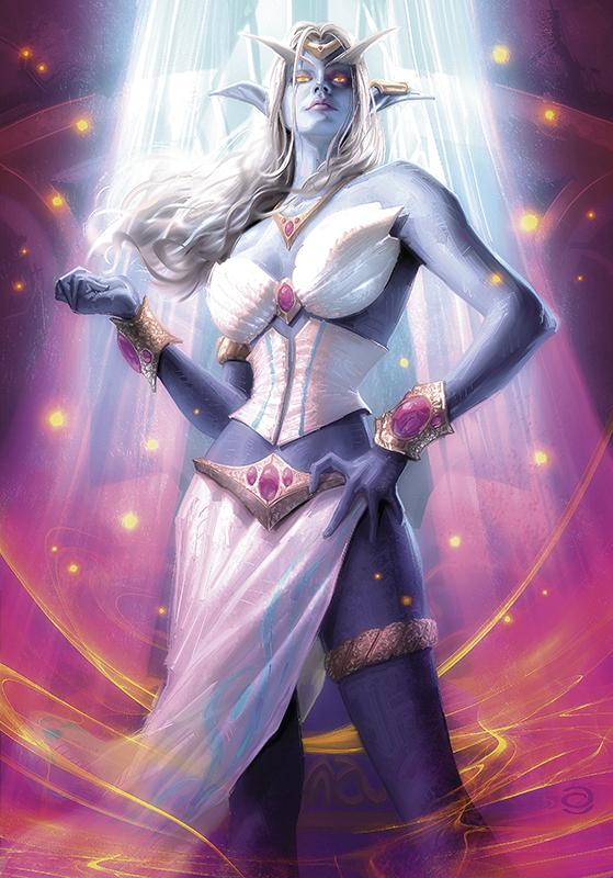 Queen Azshara by AlexGarner