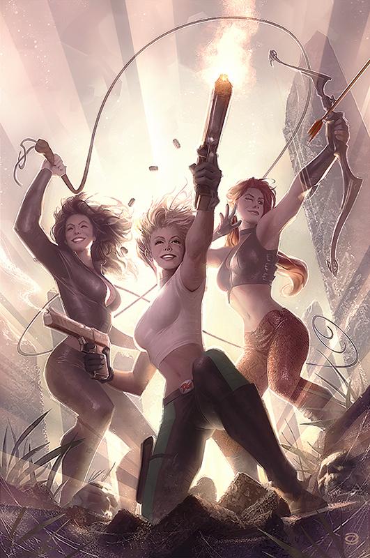 Danger Girl: Trinity #1 by AlexGarner