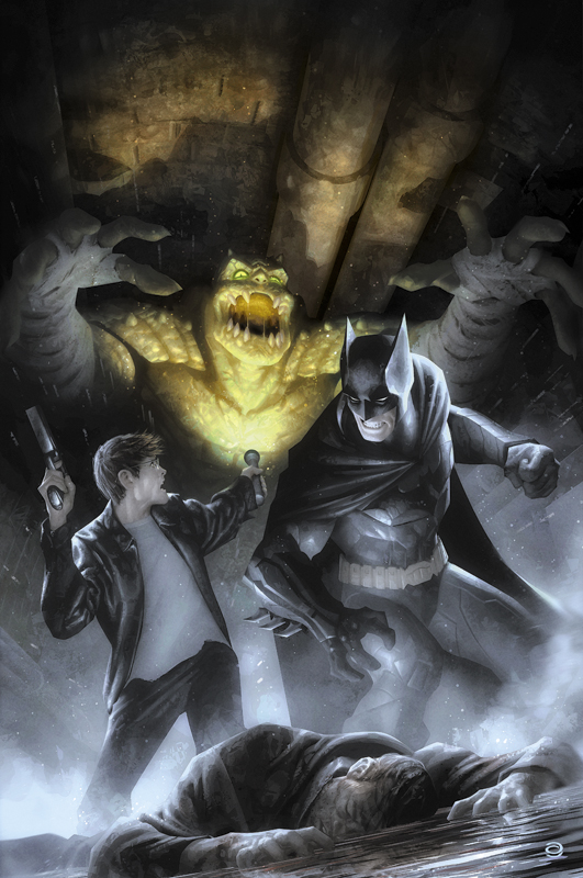 Batman Eternal No. 18 by AlexGarner