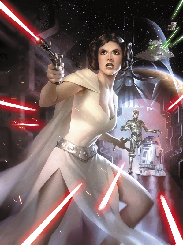 ImagineFX Star Wars Cover by AlexGarner