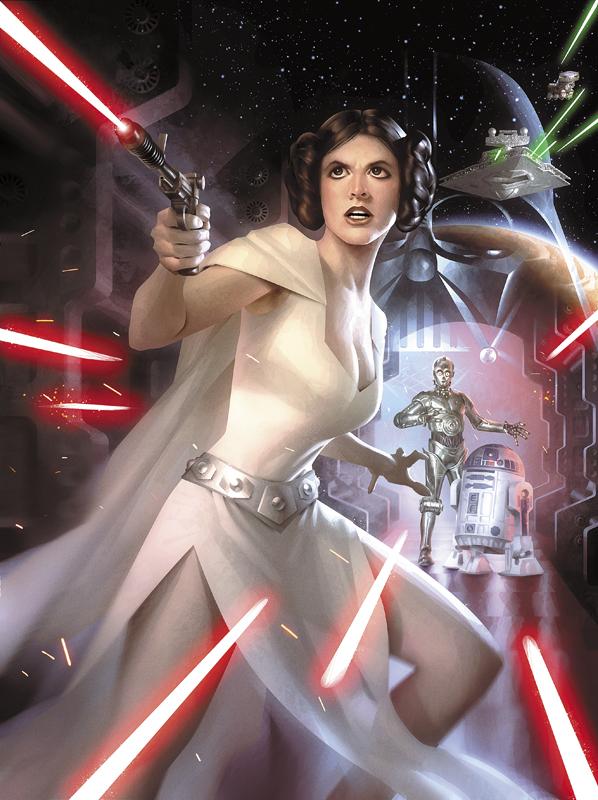 ImagineFX Star Wars Cover