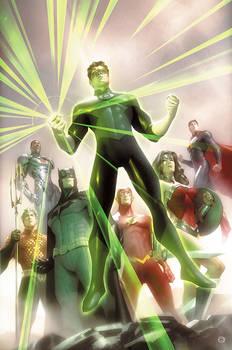 JLA #4 - Green Lantern's 75th Anniversary