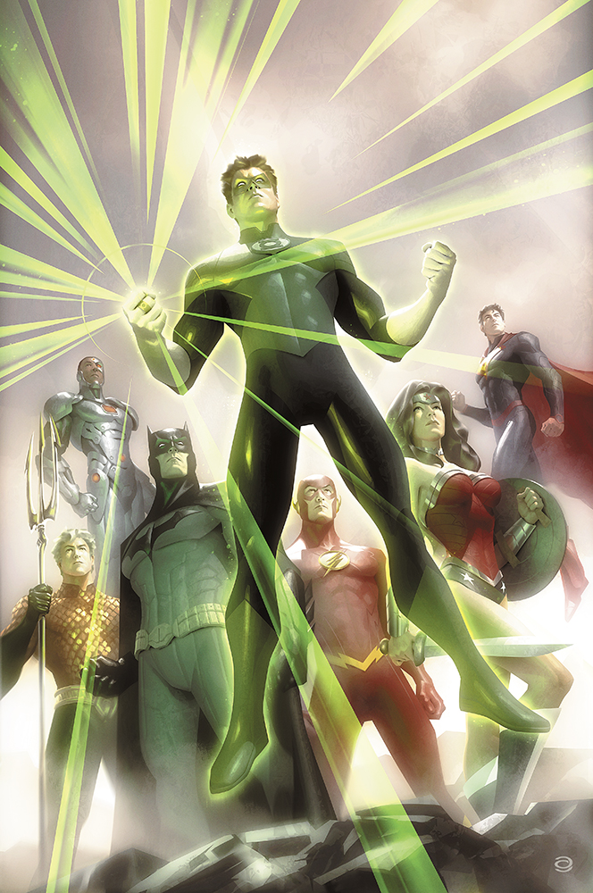 JLA #4 - Green Lantern's 75th Anniversary by AlexGarner