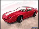 Camaro 1989 toon