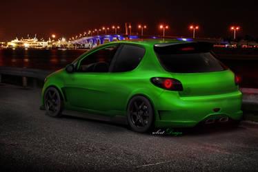 206 Green Nigth by Rob3rT----Design