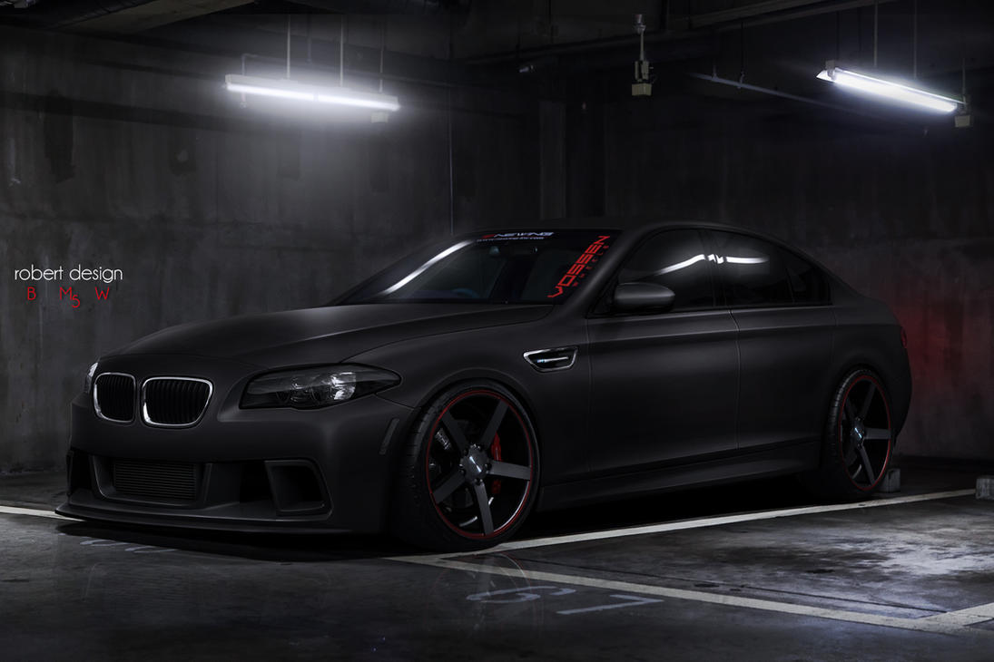 BMW M5 Matte By Rob3rT Design