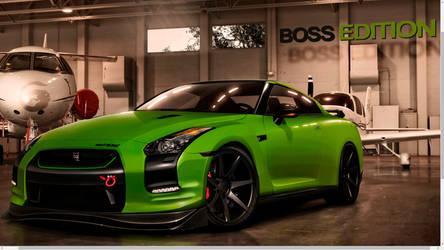 GTR Boss Edition Green-Matte