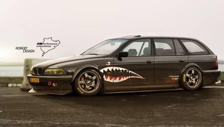 BMW E39 Shark Race by Rob3rT----Design