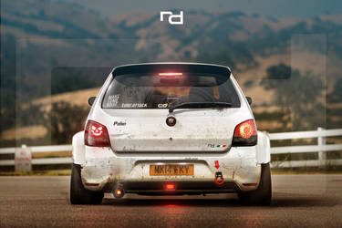 Fiat Palio Time Attack by Rob3rT----Design