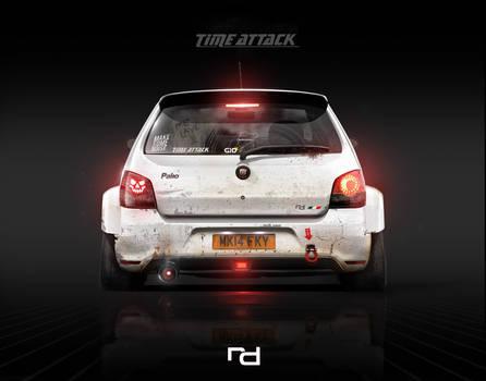 Fiat Palio Time Attack - Wallpaper